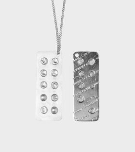 Vibe Harsløf - Pill Necklace Silver