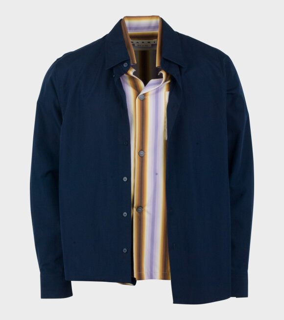 Marni - Two In One Shirt Navy