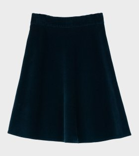 Mads Nørgaard  - Stelly Clean Spring Cord Skirt Navy