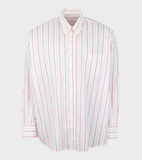Our Legacy - Borrowed BD Shirt Printed Red Stripe