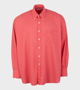 Our Legacy - Borrowed BD Shirt Light Red Volie