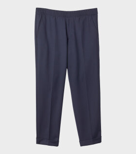 Filippa K - M. Terry Cropped Trouser Navy