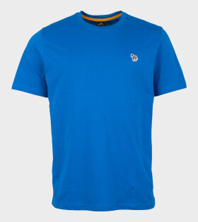 Mens Reg Fit T-shirt Zebra Blue
