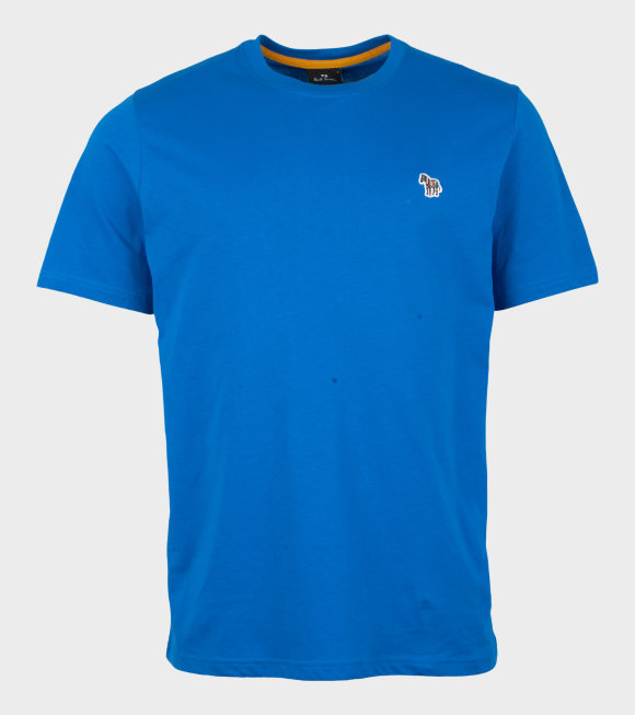 Paul Smith - Mens Reg Fit T-shirt Zebra Blue