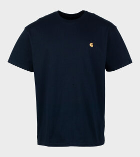 Carhartt WIP - S/S Chase T-shirt Navy