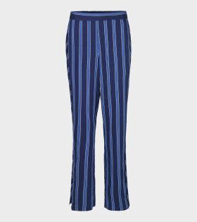 Pista Duo Viscosa Pants Blue