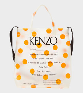 Kenzo - Shopping Bag Orange Dots