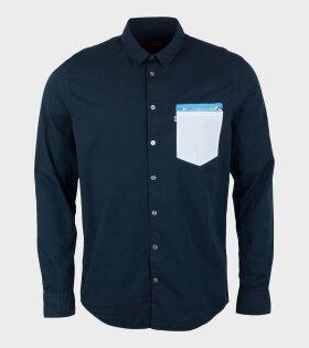 Mads Nørgaard  - Selb Crant Shirt Sky Captain