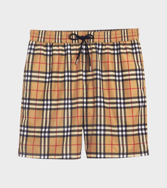 Burberry - Check Drawcord Shorts