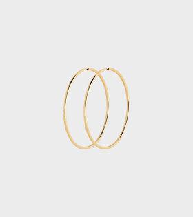 Maria Black - Senorita 50 Hoop Gold