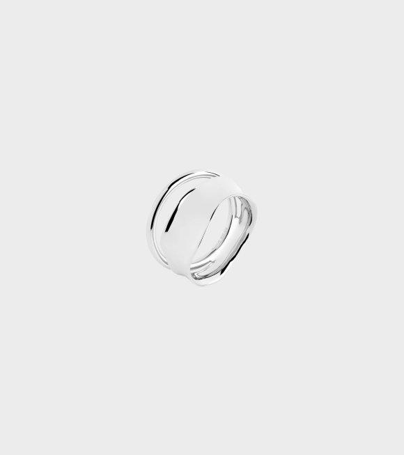 Maria Black - Midnight Ring Silver