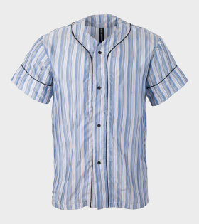 Astrid  Andersen - Baseball Shirt Stripes Blue/Red/White