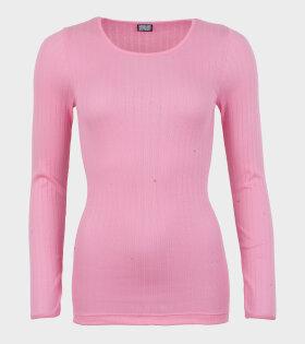 101 Rib Pink