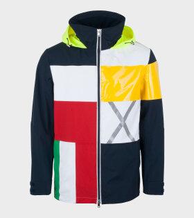Nick Wooster X Paul & Shark - Woven Jacket Multicolour