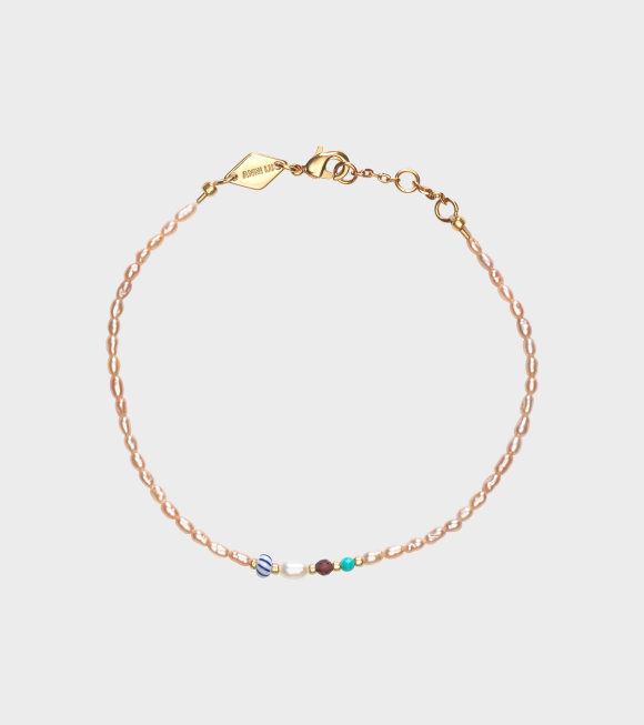 Anni Lu - Rice & Shine Bracelet Pink Mist