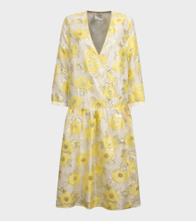 Baum und Pferdgarten - Aden Dress Yellow Floating Flowers