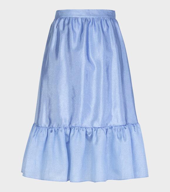 Stine Goya - Betty Textured Poly Skirt Sky