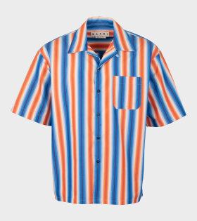 Sunset SS Shirt Blue/Orange