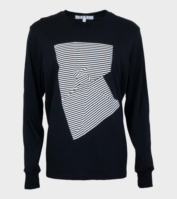 Proenza Schouler - L/S T-shirt Black/White