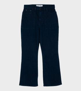 Flared Jeans Dark Clean