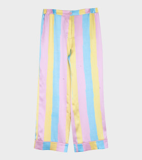 Tricolor PJ Pants Pink/Blue/Yellow