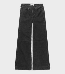 Kersee HW Flare Jeans Original Black