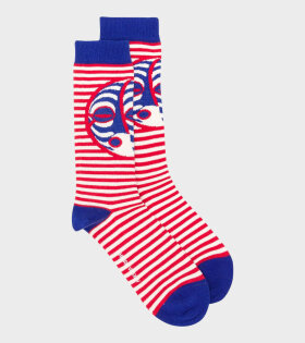 Breath Socks Blue Blower