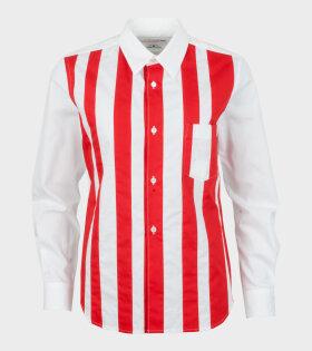 Striped Shirt Red/White