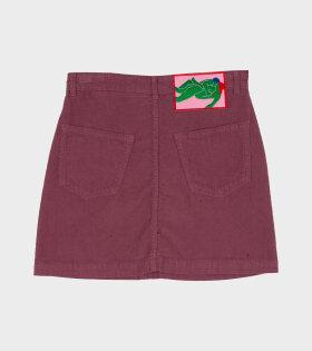 La Dernire Pine Droite Skirt Purple