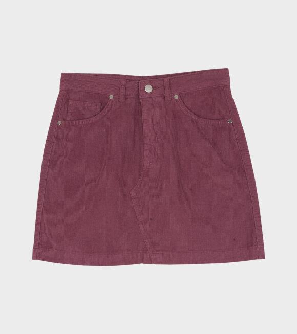 Carne Bollente - La Dernire Pine Droite Skirt Purple