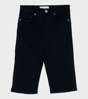 Jade HW Short Jeans Black