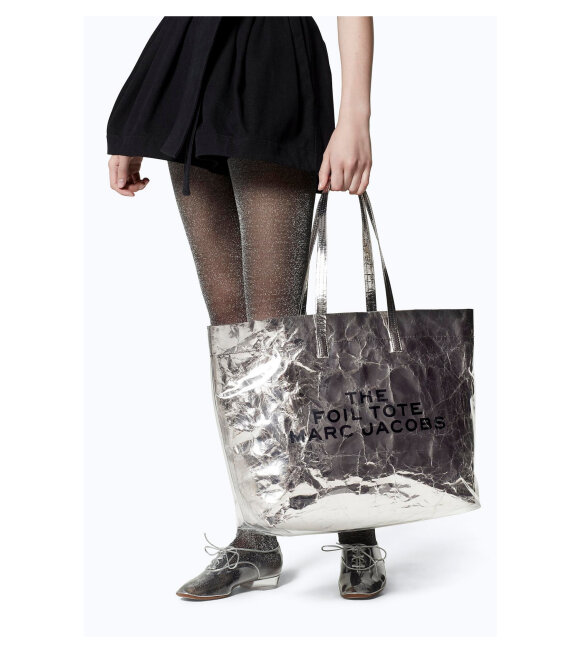 Marc Jacobs - The Foil Tote Silver