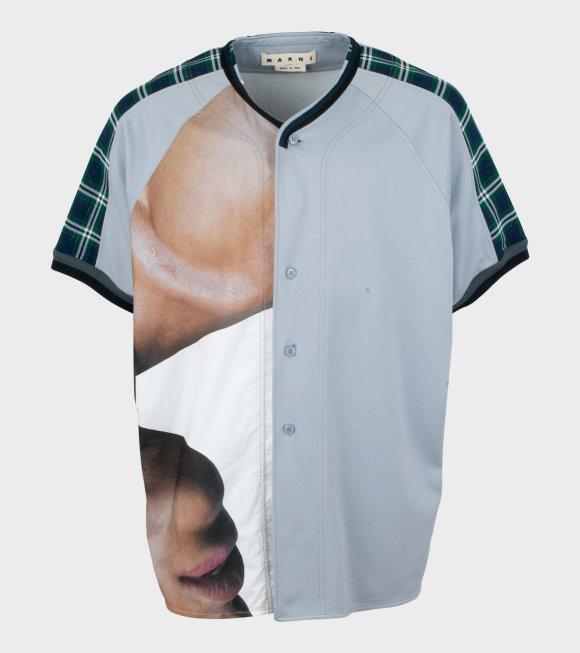 Marni - Oversize Shirt With Multi Print
