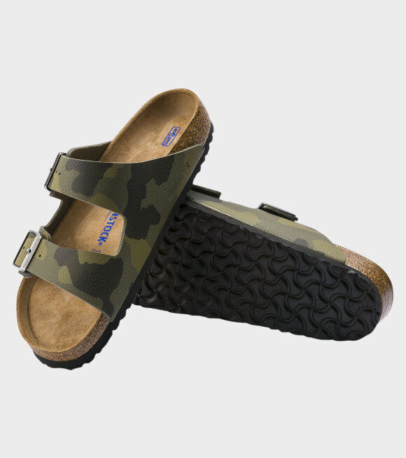 Birkenstock - Arizona BS Desert Soil Camouflage Green