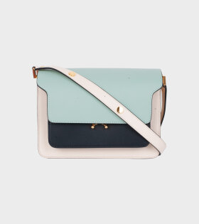 Mini Trunk Bag Mint/Black/Cream