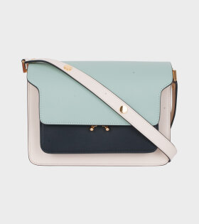 Medium Trunk Bag Mint/Black/Cream