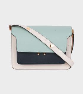 Medium Trunk Bag Mint/Black/Cream