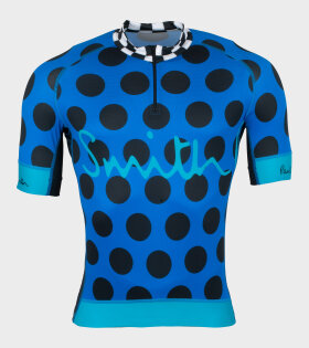 Gents Cycling Jersey Blue