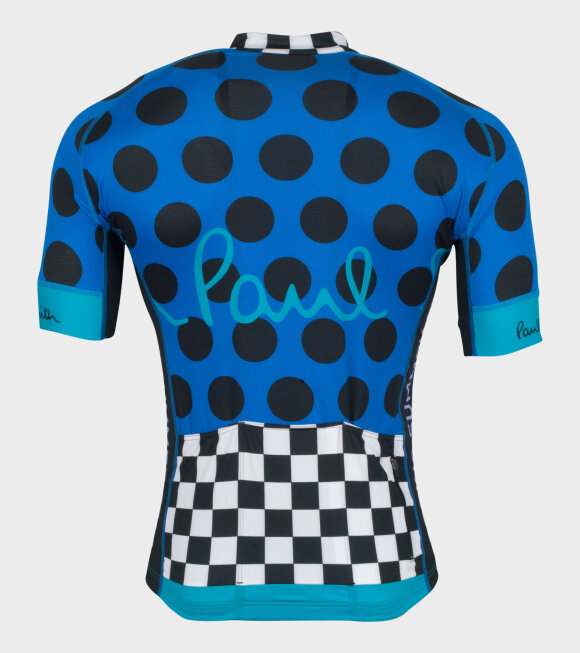 Paul Smith - Gents Cycling Jersey Blue