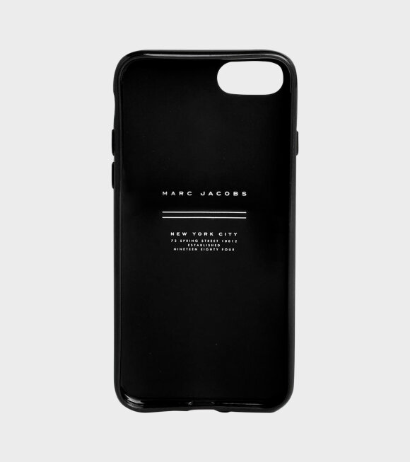 Marc Jacobs - Sport Logo iPhone 8 Case Black/Yellow