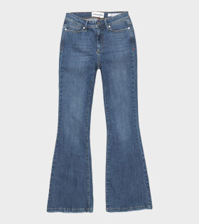 Albert Flare Wash Florence Denim Blue
