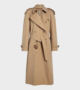 Westminster Long Trench Coat Honey