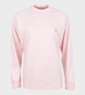 Acne Studios Carp Light sweatshirt blossom pink - dr. Adams