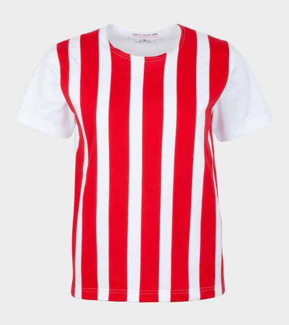 Comme des Garcons Girl - Circus T-shirt Red/White