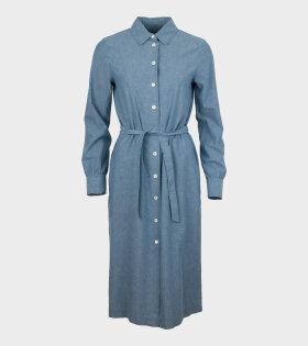 Karen Robe Dress Light Blue