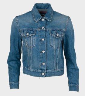 1999 Jacket Mid Blue Trash