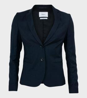 Filippa K - Jackie Cool Wool Jacket Dark Navy