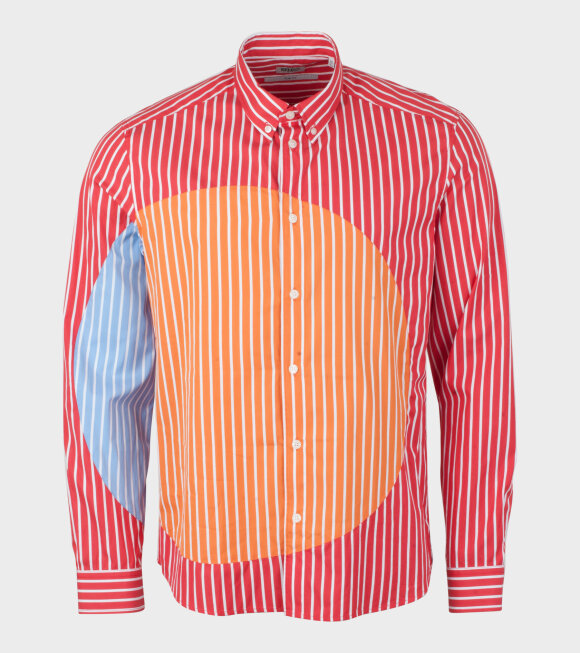Kenzo - Patched Slim Fit Shirt Red