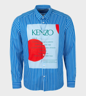 Kenzo Slim Fit Shirt Blue