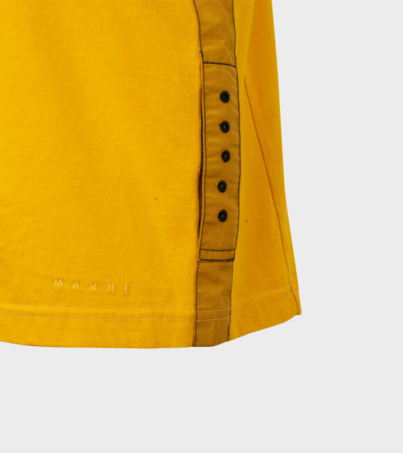 Marni - Basic Strap T-shirt Yellow